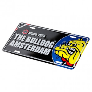 THE BULLDOG LICENSE PLATE